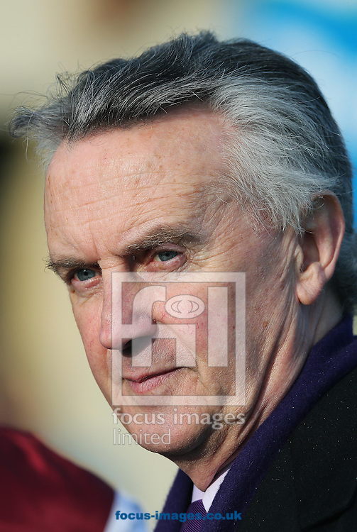 Jim Bolger at The Curragh, Newbridge, Ireland.<br /> Picture by Lorraine O'Sullivan/Focus Images Ltd +353 872341584<br /> 23/03/2014