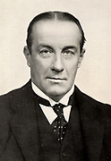 Stanley Baldwin (1867-1947) 1st Earl Baldwin; English Conservative politician; Member of Parliament 1906; Prime Minister 1923-1931, 1935-1937. Baldwin c1932. Halftone.