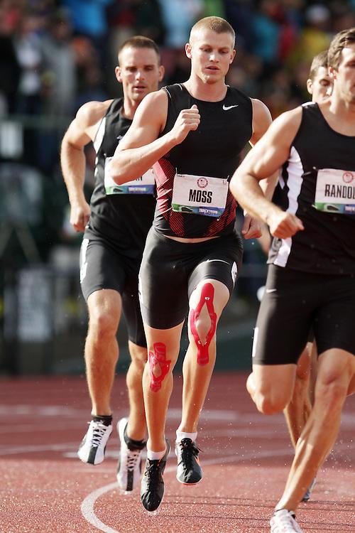 Olympic Trials Eugene 2012: Decathlon, 1500 meters, Miller Moss