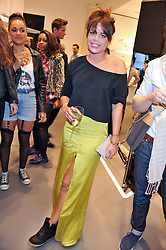 WILLA KESWICK at a party to celebratethe opening of the Lacoste Flagship Store at 44 Brompton Road, Knightsbridge, London on 20th June 2012.