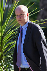 Downing Street, London, May 3rd 2016. Leader of the House of Commons Chris Grayling arrives at 10 Downing Street for the weekly cabinet meeting. ©Paul Davey<br /> FOR LICENCING CONTACT: Paul Davey +44 (0) 7966 016 296 paul@pauldaveycreative.co.uk