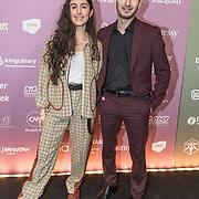 NLD/Amsterdam/20180213 - Edison Pop Awards 2018, Naaz met haar broer