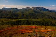 Ouro Preto_MG, Brazil.<br /> <br /> Distrito Lavras Novas, ele esta localizado na cidade historica de Ouro Preto. na foto montanhas e estrada de terra.<br /> <br /> Lavras Novas district, Its located in Ouro Preto, in this photo mountains anda dirt road.<br /> <br /> Foto: LEO DRUMOND / NITRO