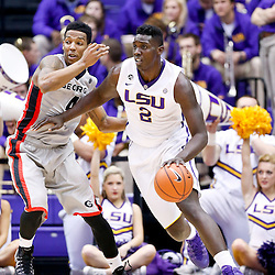03-08-2014 Georgia Bulldogs at LSU Tigers