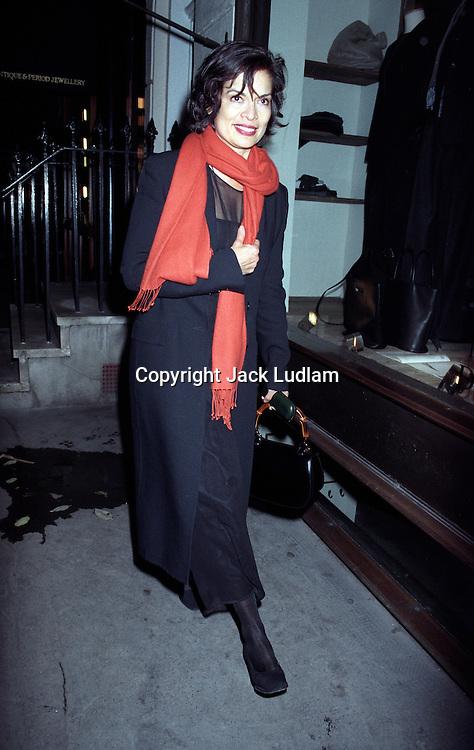 Bianca Jagger 6 oct 1998,<br /> Knightsbridge London