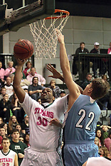 20140208 Elmhurst Bluejays at Illinois Wesleyan Men's basketball photos