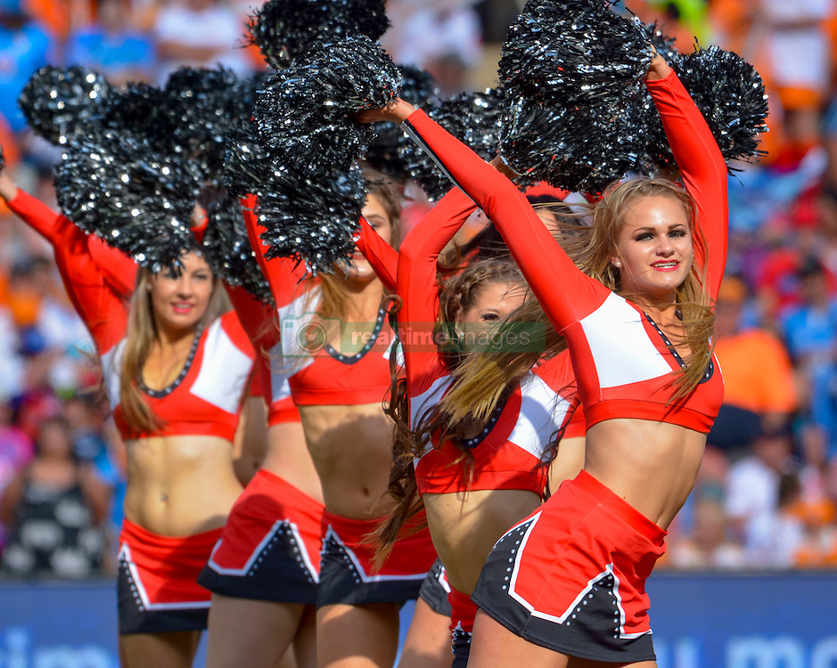 Cheetah Cheerleaders during the Currie Cup Final between the The Free State Cheetahs and Blue Bulls held at Toyota Stadium (Free State Stadium), Bloemfontein, South Africa on the 22nd October 2016<br /> <br /> Photo by:   Frikkie Kapp / Real Time Images