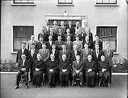 Catholic Workers College, Group of Students 12th june, 1961,