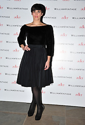 © Licensed to London News Pictures. 10/02/2012. London, England. Vicky McClure attends a private dinner ahead of sundays Bafta awards hosted by William Banks-Blaney of WilliamVintage and actress Gillian Anderson at St Pancras Renaissance Hotel London  Photo credit : ALAN ROXBOROUGH/LNP