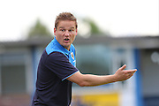 AFC Wimbledon manager Neal Ardley during the Pre-Season Friendly match between Margate and AFC Wimbledon at Hartsdown Park, Margate, United Kingdom on 16 July 2016. Photo by Stuart Butcher.