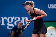 Angelique Kerber of Germany in action during the first round of the 2018 US Open Grand Slam tennis tournament, at Billie Jean King National Tennis Center in Flushing Meadow, New York, USA, August 28th 2018, Photo Rob Prange / SpainProSportsImages / DPPI / ProSportsImages / DPPI