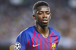 September 18, 2018 - Barcelona, Spain - FC Barcelona forward Ousmane Dembele (11) during the UEFA Champions League match between FC Barcelona and PSV Eindhoven at Camp Nou Stadium corresponding of matchday 1, group B on September 18, 2018 in Barcelona, Spain. (Credit Image: © Urbanandsport/NurPhoto/ZUMA Press)