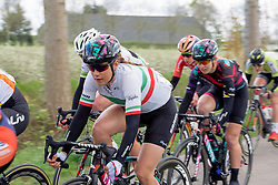Elena Cecchini (CANYON//SRAM Racing) at Omloop van Borsele 2016. A 139 km road race starting and finishing in 's-Heerenhoek, Netherlands on 23rd April 2016.