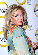 Kathy Hilton attends the Oxygen Upfronts at Gotham Hall in New York City on April 4, 2011.