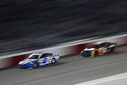 September 22, 2018 - Richmond, Virginia, United States of America - Brad Keselowski (2) battles for position during the Federated Auto Parts 400 at Richmond Raceway in Richmond, Virginia. (Credit Image: © Chris Owens Asp Inc/ASP via ZUMA Wire)
