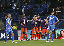 October 2, 2018 - Sinsheim, Germany - John Stones 5; during the UEFA Champions League group F football match between TSG 1899 Hoffenheim and Manchester City at the Rhein-Neckar-Arena in Sinsheim, southwestern Germany, on October 2, 2018. (Credit Image: © Elyxandro Cegarra/NurPhoto/ZUMA Press)