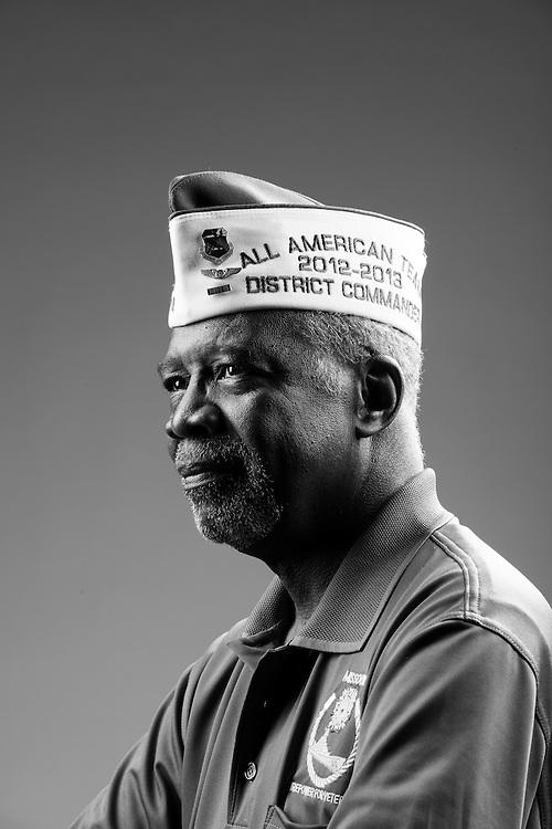 Clifford W. Mitchem<br /> Air Force<br /> E-5<br /> Crew Chief<br /> Mar. 1966 - Jan. 1970<br /> Vietnam<br /> <br /> Veterans Portrait Project<br /> St. Louis, MO