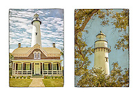 """Boxed set of 6 cards. 4.25"""" x 6"""". Two images. Blank inside.<br /> $8.95"""