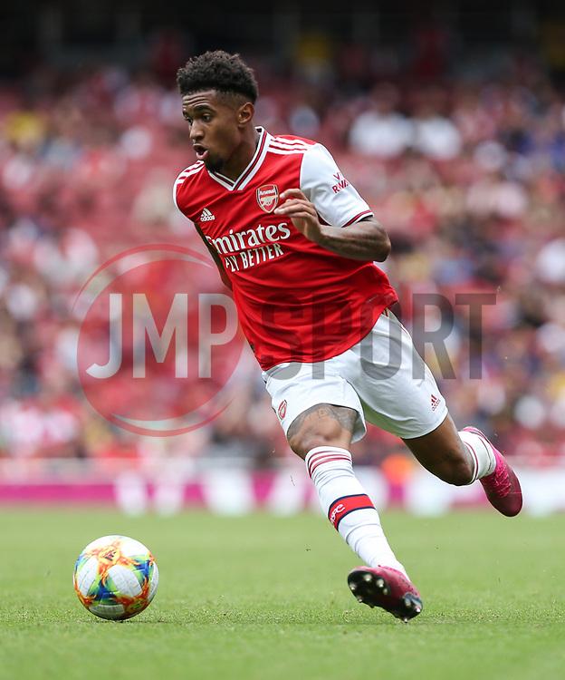 Reiss Nelson of Arsenal runs with the ball - Mandatory by-line: Arron Gent/JMP - 28/07/2019 - FOOTBALL - Emirates Stadium - London, England - Arsenal v Olympique Lyonnais - Emirates Cup