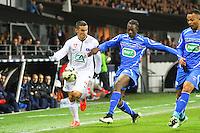 Gaetan BELAUD - 05.03.2015 - Brest / Auxerre - 1/4Finale Coupe de France<br />Photo : Maxime Kerriou / Icon Sport