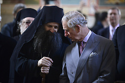 17.03.2016, Novi Sad, SRB, der Britische Kronprinz Charles und seine Frau Camilla besuchen Serbien, im Bild HRH the Prince of Wales during a visit to Serbia visited Kovilj monastery where he was welcomed by Bishop Irinej, Metropolitan of Zagreb and Ljubljana Porfirije, father Isihije and Orthodox Archbishop Jeronim. EXPA Pictures © 2016, PhotoCredit: EXPA/ Pixsell/ POOL<br /> <br /> *****ATTENTION - for AUT, SLO, SUI, SWE, ITA, FRA only*****