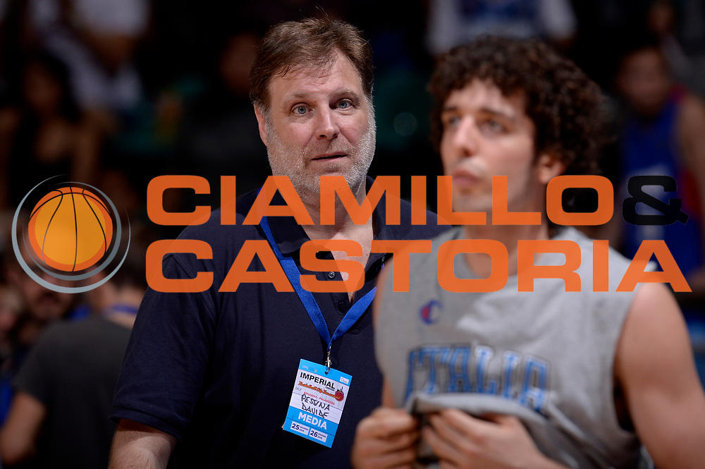 DESCRIZIONE : Bologna Nazionale Italia Uomini Imperial Basketball City Tournament Italia Filippine Italy Philippine<br /> GIOCATORE : Davide Pessina<br /> CATEGORIA : vip<br /> SQUADRA : Italia Italy<br /> EVENTO : Imperial Basketball City Tournament<br /> GARA : Bologna Nazionale Italia Uomini Imperial Basketball City Tournament Italia Filippine Italy Philippine<br /> DATA : 26/06/2016<br /> SPORT : Pallacanestro<br /> AUTORE : Agenzia Ciamillo-Castoria/Max.Ceretti<br /> Galleria : FIP Nazionali 2016<br /> Fotonotizia : Bologna Nazionale Italia Uomini Imperial Basketball City Tournament Italia Filippine Italy Philippine