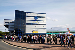 A general view as Bryan Adams queue outside Sixways Stadium - Mandatory by-line: Matt McNulty/JMP - 14/07/2017 - Sixways Stadium - Worcester, England