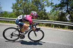 Ekaterina Anoshina on Stage 8 of the Giro Rosa - a 141.8 km road race, between Baronissi and Centola fraz. Palinuro on July 7, 2017, in Salerno, Italy. (Photo by Sean Robinson/Velofocus.com)