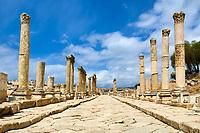 Jordanie - Site archeologique de Jerash//Archeological site of Jerash - Jordan
