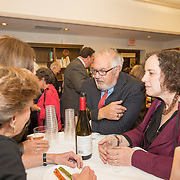 The Temple Israel community host former Congressman Barney Frank at Temple Israel on October 16, 2015 in Boston, Masschusetts. (Photo by Elan Kawesch)