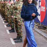 NLD/Amserdam/20150505 - Bevrijdingsconcert 2015 Amsterdam, zangeres Giovanca