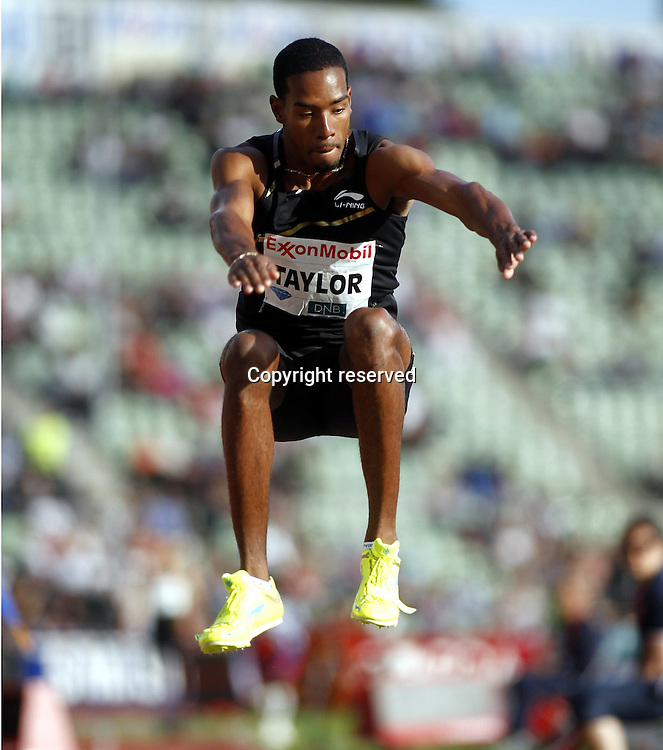07.06.2012. Paris, France.   Diamond League Bislett Games Christian Taylor USA  Triple Jump