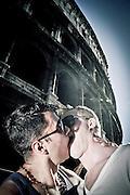 """""""Libertà di vivere e amare"""", slogan-richiesta che lesbiche, gay, bisessuali, transessuali e transgender, queer e intersessuali hanno rivendicato con il Roma Pride 2012. Roma, 23 giugno 2012. Christian Mantuano /  Oneshot <br /> <br /> """"Freedom to live and to love"""" slogan-demand for lesbian, gay, bisexual, transsexual and transgender, queer and intersex claimed during the Roma Pride 2012. Rome, 23 June 2012. Christian Mantuano / Oneshot"""