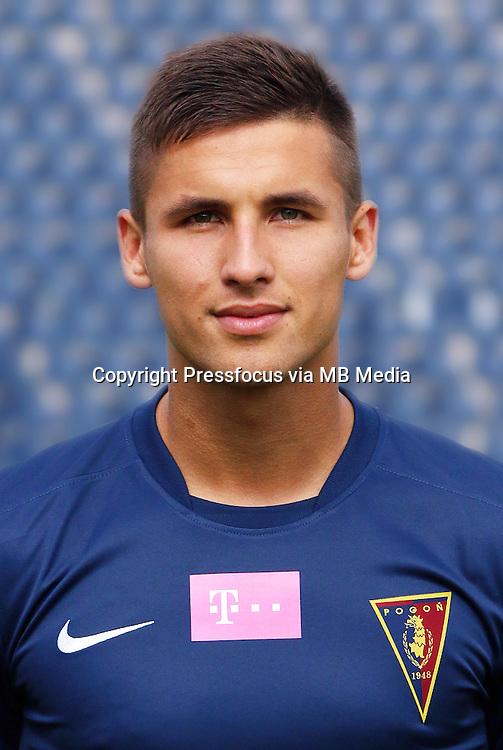 FOOTBALL POLISH EKSTRAKLASA SEASON 2014/2015<br /> Pogon Szczecin<br /> N/Z Lukasz Zwolinski