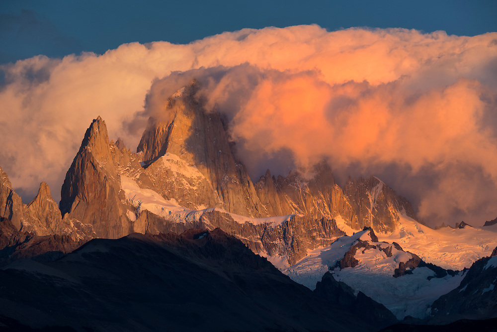 South America; Patagonia; Argentina,Santa Cruz,El Chalten,Los Glaciares ; National Park; UNESCO; World Heritage,