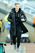 Matt Ritchie (#11) of Newcastle United arrives ahead of the Premier League match between Newcastle United and Leicester City at St. James's Park, Newcastle, England on 9 December 2017. Photo by Craig Doyle.