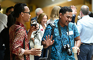 British Council -Future News Worldwide 2018, Wed 4-7 July Scottish Parliament, Edinburgh<br /> <br /> July 4th - Welcome reception in the Garden Lobby of the Scottish Parliament<br /> <br />  Neil Hanna Photography<br /> www.neilhannaphotography.co.uk<br /> 07702 246823