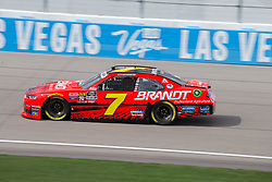 March 1, 2019 - Las Vegas, NV, U.S. - LAS VEGAS, NV - MARCH 01: Justin Allgaier (7) JR Motorsports Chevrolet Camaro during practice for the Boyd Gaming NASCAR Xfinity Series race on March 01, 2019, at the Las Vegas Motor Speedway in Las Vegas, Nevada (Photo by Matthew Bolt/Icon Sportswire) (Credit Image: © Matthew Bolt/Icon SMI via ZUMA Press)