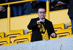 Owner Jeff Shi of Wolverhampton Wanderers  - Mandatory by-line: Nizaam Jones/JMP - 02/03/2019 - FOOTBALL - Molineux - Wolverhampton, England -  Wolverhampton Wanderers v Cardiff City - Premier League