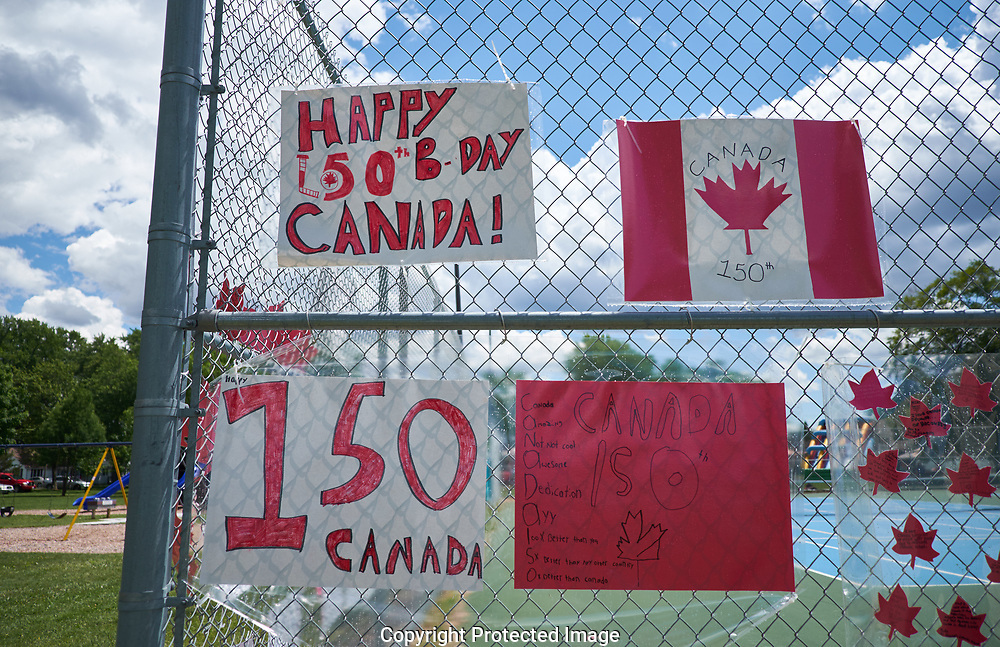 Pre Canada Day celebration in Sarnia, Ontario area, Tuesday, June 27, 2017. (Photo/John Froschauer)