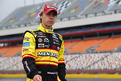 May 26, 2018 - Concord, North Carolina, United States of America - Brandon Jones (19) hangs out on pit road before qualifying for the Alsco 300 at Charlotte Motor Speedway in Concord, North Carolina. (Credit Image: © Chris Owens Asp Inc/ASP via ZUMA Wire)