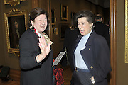 LADY NUTTING; COUNTESS ESTERHAZY, Rothschild Wealth Management & Trust  and David Campbell  host a party to celebrate the publication of <br /> 'Made in Britain' -The Men and Women Who Shaped the Modern World by Adrian Sykes. National Portrait Gallery. London. 9 November 2011 <br /> <br /> <br />  , -DO NOT ARCHIVE-© Copyright Photograph by Dafydd Jones. 248 Clapham Rd. London SW9 0PZ. Tel 0207 820 0771. www.dafjones.com.