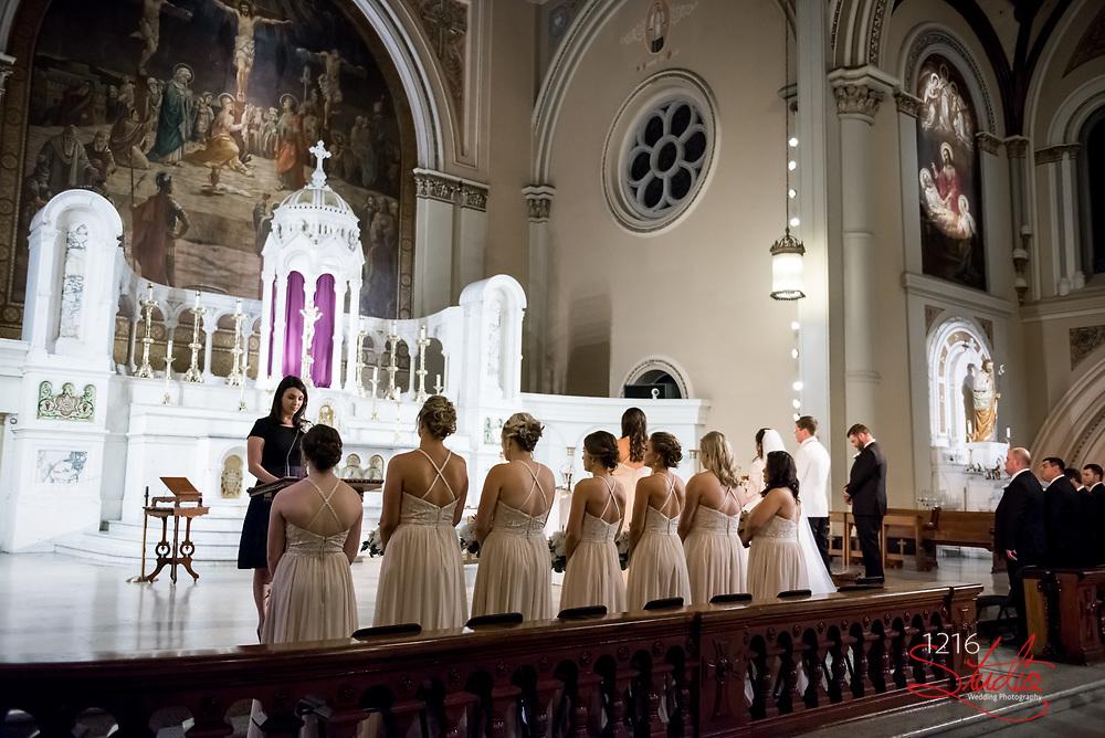 James & Addy Wedding Photography Samples | Audubon Cottages, St. Joseph Catholic Church, The Jaxson | 1216 Studio Wedding Photography