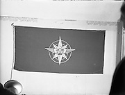 09/12/1957<br /> 12/09/1957<br /> 09 December 1957<br /> <br /> Special for Aer Lingus - Flag at Office