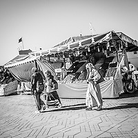 Life in Marrakech's medina is an intoxicating swirl of street life and markets for both tourists and locals.