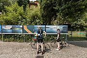 ITALY, Franciacorta area, Iseo Lake,  Monteisola