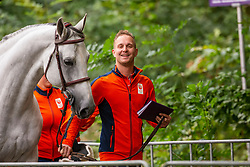 DodderKuipers Doron, NED, Charley<br /> European Championship Jumpîng<br /> Rotterdam 2019<br /> © Hippo Foto - Dirk Caremans<br /> Kuipers Doron, NED, Charley