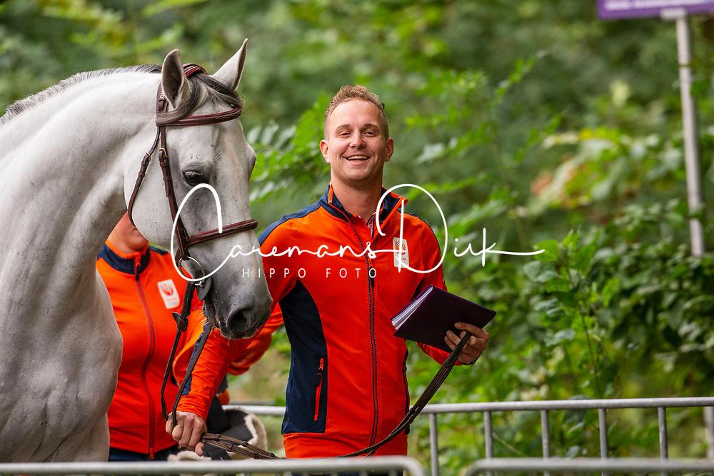 DodderKuipers Doron, NED, Charley<br /> European Championship Jumpîng<br /> Rotterdam 2019<br /> © Hippo Foto - Dirk Caremans<br /> Kuipers Doron, NED, Charley