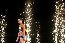 03-03-2018 GBR: World Indoor Championships Athletics day 3, Birmingham<br /> Nadine Visser NED, 60 Metres Hurdles pakt de bronze medaille