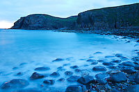 Playa Dail Beag Beach. Lewis Island. Outer Hebrides. Scotland, UK